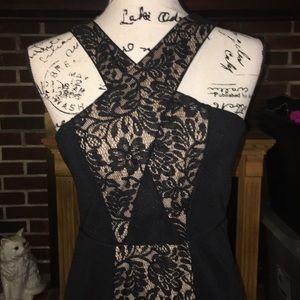 NWT City Studio (Macy's) criss cross dress